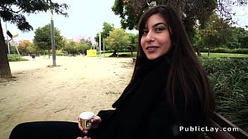 Romanian hottie gets anal in public porno izle