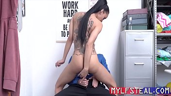 Skinny Hot MILF Gets Her Pussy Fucked For Stealing- Gia Vendetti