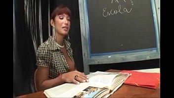 Shemale teacher fuck her student