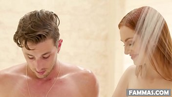 My Sister-in-law massaging me! - Maya Kendrick - Family Sex Massage
