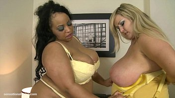 Shanice big black boobs - Busty british bbw leah jayne n shanice richards lesbian sex