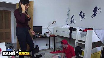 BANGBROS - Sam Bourne'_s Step Mom Ava Koxxx Takes Control Of The Situation