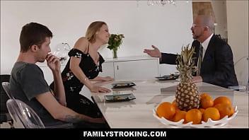 Fucking My Stepdad'_s Hot Sister Britney Amber