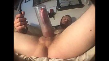 Bi guy edging his hard Cock