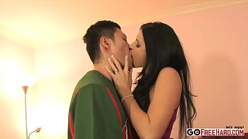 Free free fuck gallery i want American brunette is milf fucks asian man interracial