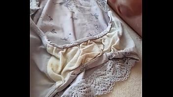 Cum on Dirty panties from my bbw