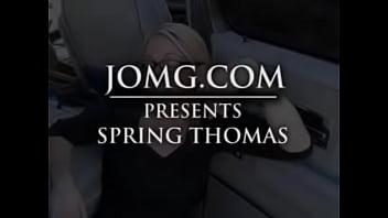 Spring Thomas Messy Facial Wearing Glasses