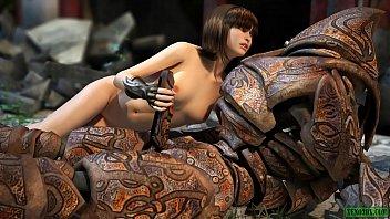 Robofuck. SciFi 3D Sex