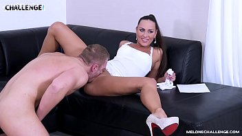 Newcomer gets Stage Fright in front of Mea Melone sophia lomeli pornhu b