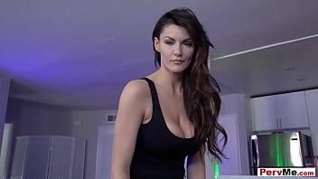 Sexy Italian MILF Stepmother Taboo Fuck Session