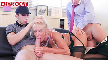 LETSDOEIT - Dirty Teacher Marina Beaulieu Gets Some Anal Love In Hot Threesome Sex
