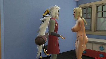 The 3 Sannin Tsunade Big Tits Fucked Beside Her Boyfriend Jiraiya Naruto Porn Cuckold