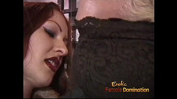 Spanking desires and sex - Naughty blonde stud likes being whipped by a smoking hot redhead
