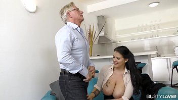 Busty lovers can't wait to see Anissa Jolie ride big hard cock with her ass