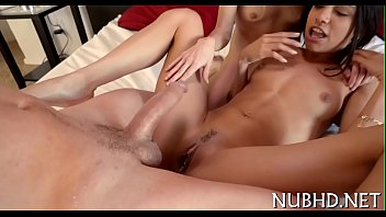 Teen butt and twat crave for cock