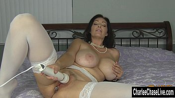 Kinky Big Tit MILF Charlee Chase Puts Some Bling in Her Ass