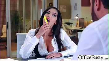 Slut Girl (Shay Evans) With Round Huge Tits Get Nailed In Office vid-26