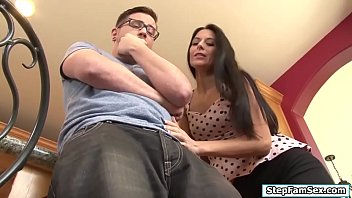 Stepmom wants her stepsons big hard cock