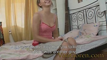 first date sex with slutty Russian teen
