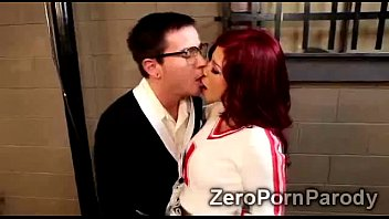 2 Gorgeous redheaded babes and hot blond bookworm in orgy