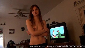 Naked iowa state university - First time iowa girl doing porn casting couch at home