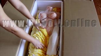 Unboxing Sex Doll 156cm