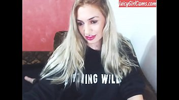 Super hot blonde; watch her full video at www.JuicyGirlCams.com