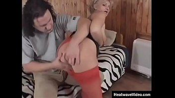 Older granny is still horny and loves young cock