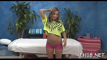 Very hot gets screwed hard by her massage therapist