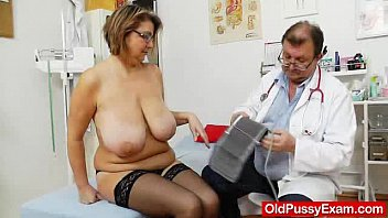 The big breast examiner Drahuse gyno flick examination