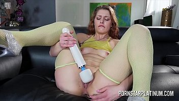 Fallon West putting her brand new toys to use
