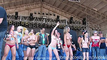 wild and so fucking hot contest from iowa biker rally this year