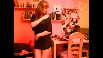 My Sister Forgets Webcam Open And Gets Horny - pornstrip.com