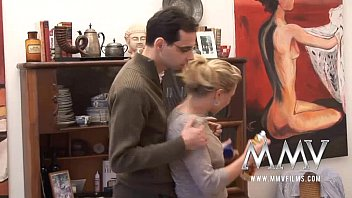 MMV Films German milf gets cum on her tits