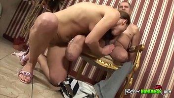 Brunette Babe Riding Blowjob Handicapped Stud-ride-his-dick-hi-1