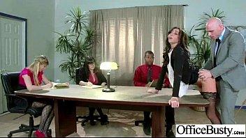 (stephani moretti) Worker Big Melon Tits Girl Get Sex In Office vid-30