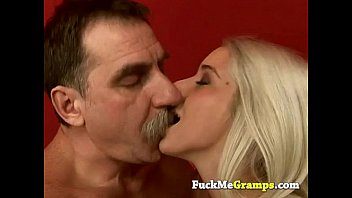 Stunning blonde fucked by dirty old man Thumb
