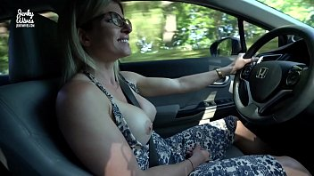 Secret Vacation With My Step Mom   Nude Car Ride And Hotel Blowjob   Cory Chase
