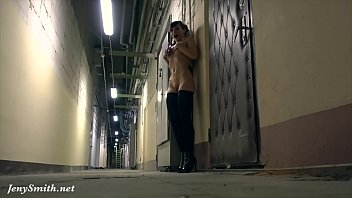 Caught her naked pic gallery - All alone naked in some warehouse