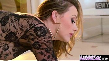 Big Butt Girl (chanel preston) Get Oiled All Over And Anal Nailed video-07