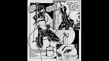 Insane deviate sexual orgy comic