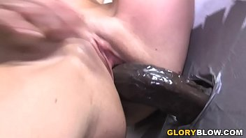 Vanessa Naughty Looses Her Gloryhole Virginity With A BBC