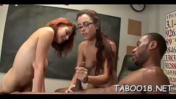 Pron redhead Erotic one-eyed monster sucking featuring luscious redhead legal age teenager in class