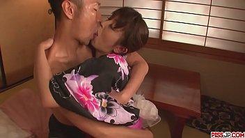 Marika japan girl blowjob ends in a pussy creampie - More at Pissjp.com