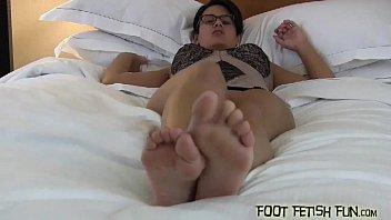 Pop my perfect white little toes in your mouth