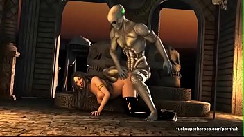 3d big boobs wet pussy fucked by big cock alien