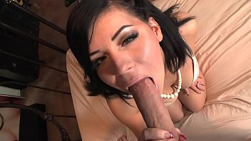 Belle Noire sucks big cock and fucks like a pro pornstar
