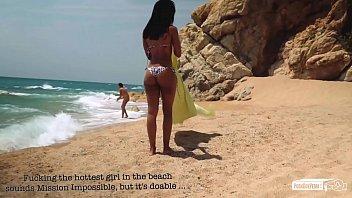 Vip Sex Vault -Portuguese Babe Noe Milk In Beach Seduction And Sex Tutorial