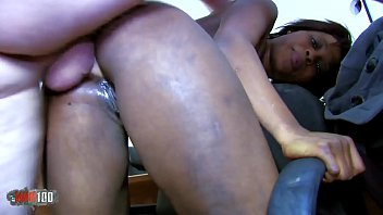 Free galleries women slurping cum - Petite black slut hard anal fucking and squirting