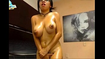 perfect boobs bouncing while she cums multiple times